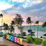 tulisan Pantai lagoi bay