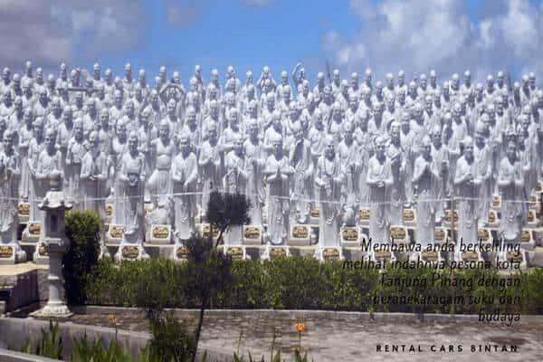 Vihara Seribu Patung destinasi wisata tanjung pinang
