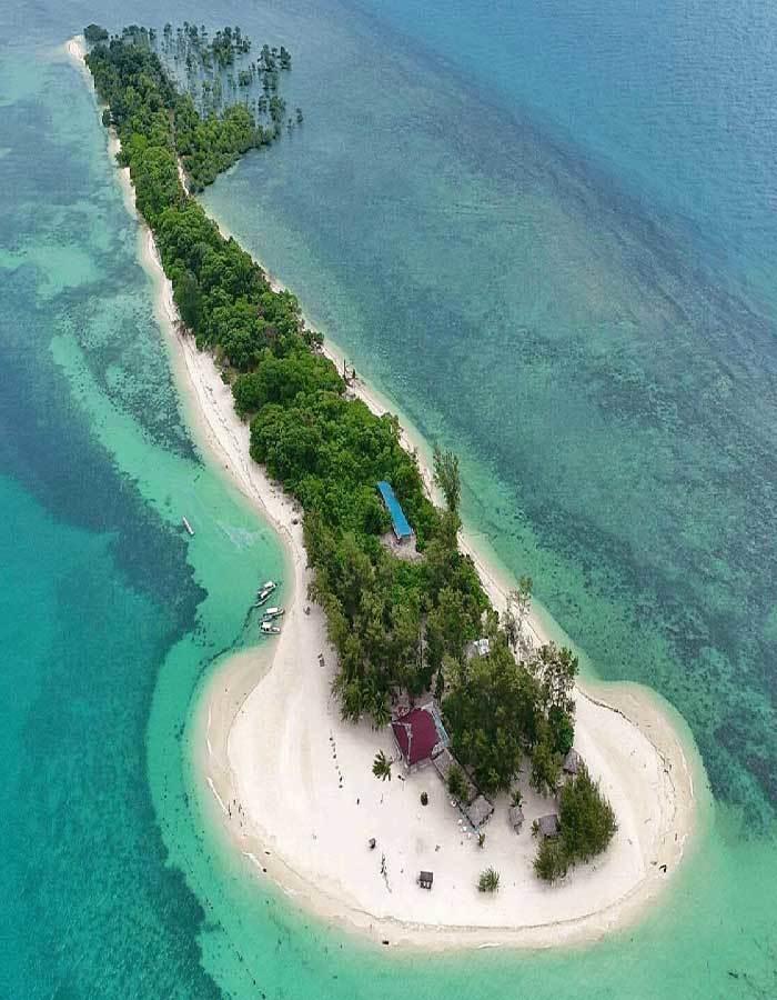 pulau pasir putih di pulau bintan