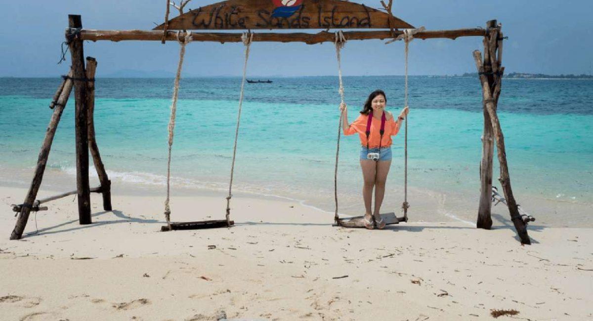 white sand island paket wisata bintan
